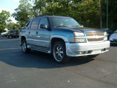 chevy southern comfort buy used 2004 chevy avalanche 4x4 lt southern comfort
