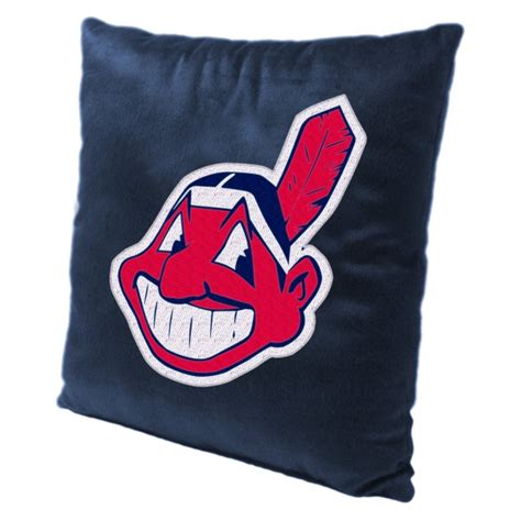 cleveland indians comforter cleveland indians mlb 16 quot embroidered plush pillow with