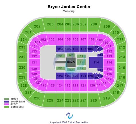 bryce center detailed seating chart bryce center seating chart
