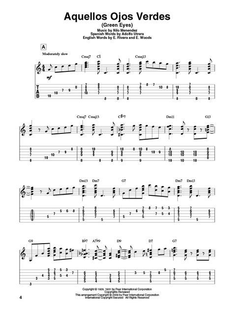 boat drinks guitar chords latin standards jazz guitar chord melody solos guitar