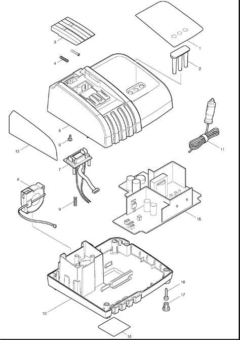 parts of a charger buy makita dc18se 18v lithium ion optimum automotive