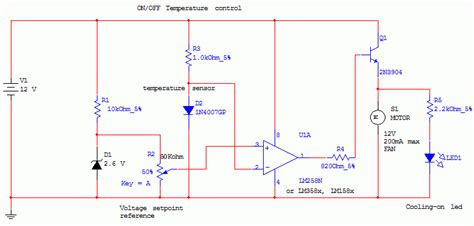 a thermistor motor temperature protection device operates by gt circuits gt on temperature circuit l45153
