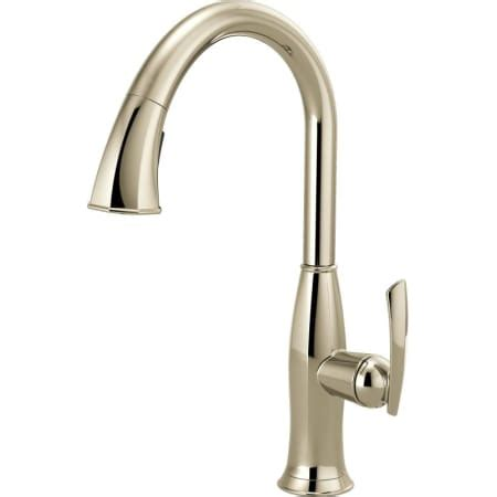 pull down kitchen faucet with magnetic sprayer dock best brizo 63096lf pn brilliance polished nickel coltello pull