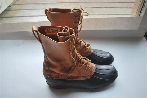 ll bean boots vintage ll bean maine shoes high ankle by