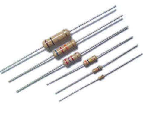 resistor pengertian pengertian dan macam macam resistor sikil rayapen
