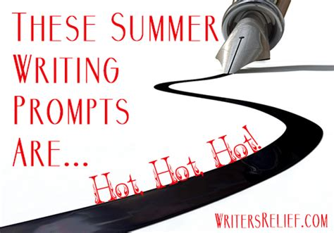 summer blog writing away with blog these summer writing prompts are hot hot hot writer s