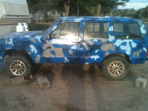 blue camo jeep 1985 xj blue camo page 5 jeep cherokee forum