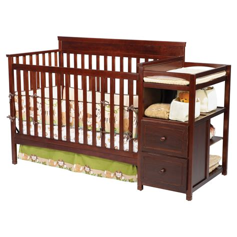 Delta Children Houston Crib N Changer Espresso Baby Baby Cribs With Changer