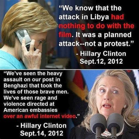 hillary benghazi phone transcript proves hillary lied about benghazi attack