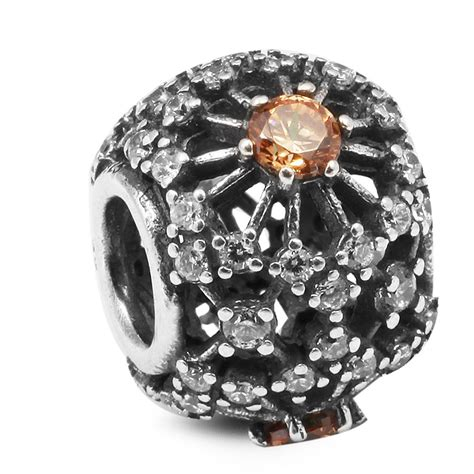 Pandora Inner Radiance With Clear Cz Charm P 784 2017 inner radiance golden colored clear cz 100 925 sterling silver fit pandora charms