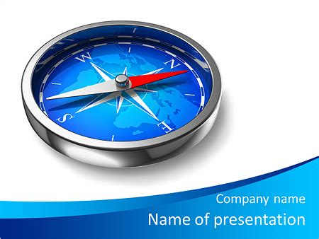 Compass Powerpoint Template Backgrounds Id 0000006564 Smiletemplates Com Compass Powerpoint Template