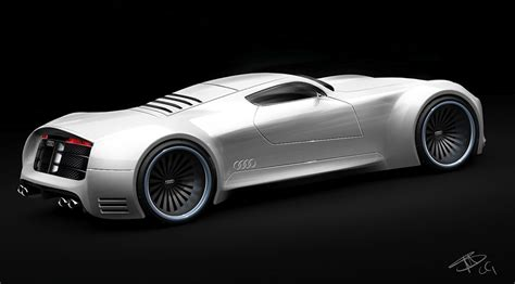 super concepts dsng s sci fi megaverse the futuristic audi r10 super sports car