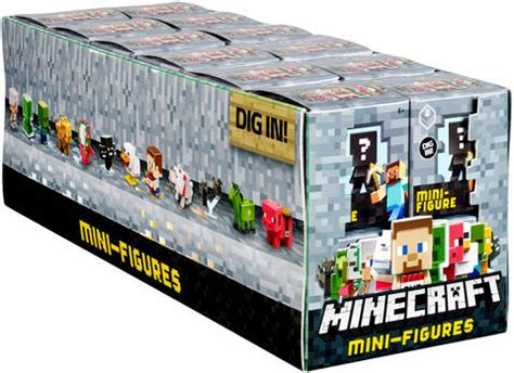 Pajangan Figure Minecraft Mini Figur Minifigures Seri 3 minecraft collectible figure mystery blind bag single pack styles vary target