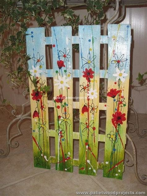 painted projects 12 pallet projects for your inspiration pallet wood projects