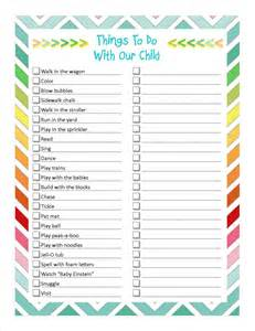 Things To Do Printable Things To Do Jelly Bean Journals