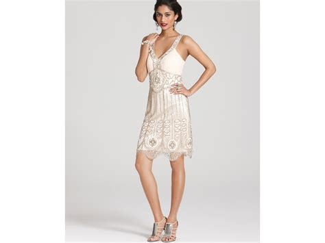 sue wong beaded dress sue wong dress beaded v neck in beige antique chagne
