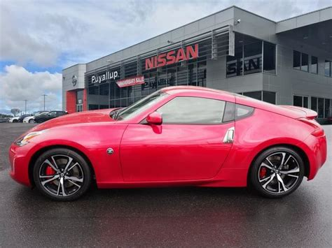 nissan sport coupe 2018 nissan 370z sport coupe in puyallup 18016 bill