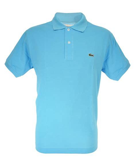 light blue polo shirt light blue classic fit polo shirt