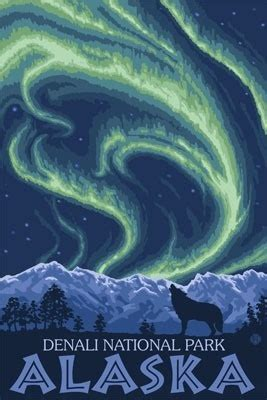 denali national park northern lights denali national park alaska northern lights lantern