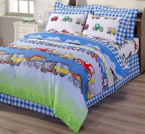 tractor bedding set trucks cars tractors police bedding twin full queen