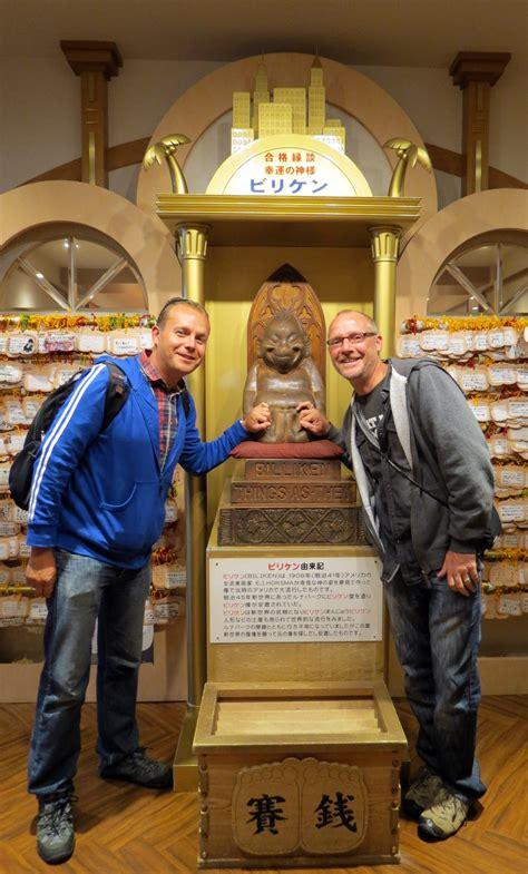 billiken in japan stop in japan is osaka flashpacking travel