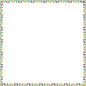 Gallery images and information christmas lights clipart border png