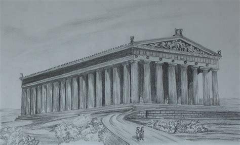 Parthenon Drawing