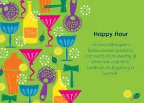 pubwest portland happy hour online invitations amp cards by