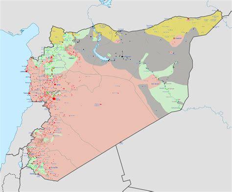 syrian civil war template situacion en siria mapa im 225 genes taringa