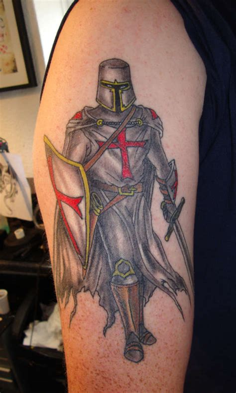 knight times tattoo knights templar crusader