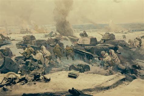 art of war 2 stalingrad winters free online games at panorama painting battle of stalingrad museum volgograd