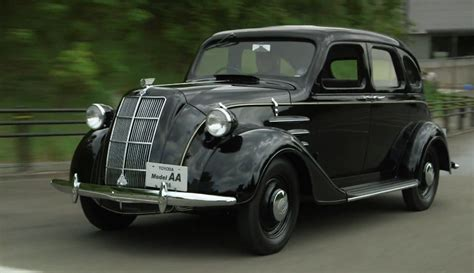 Where Are Toyota Cars Made Leno Drives Toyota The 1936 Aa Autoevolution