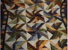 Finished Trade Winds Batik Quilt Fat Free