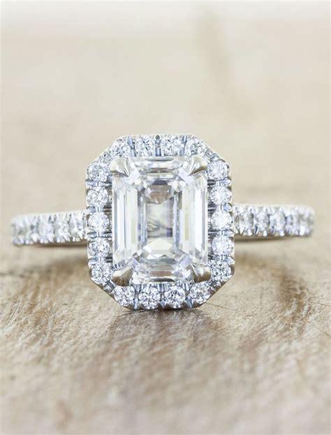 engagement rings with glamorous charm modwedding