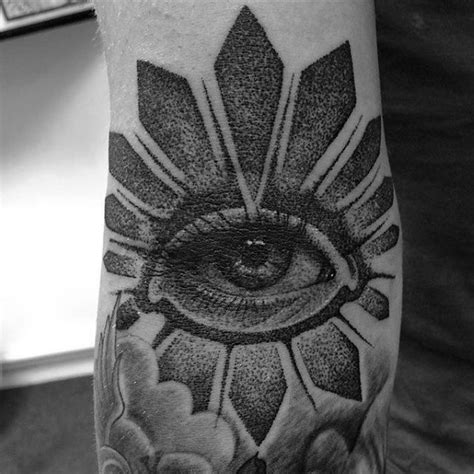 eyeball in ditch custom tattooing 70 ditch designs for crease ink ideas