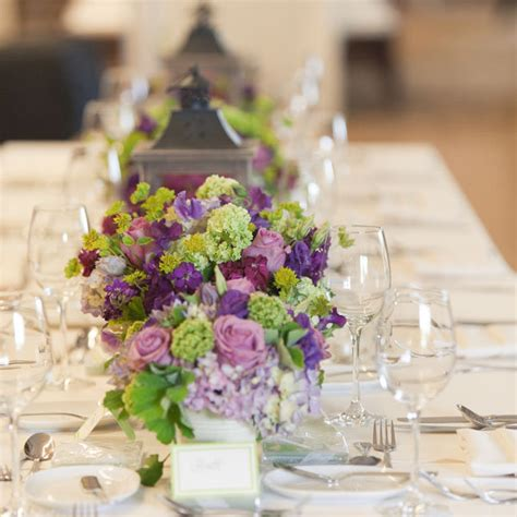30 Impressive Low Centerpieces Bridalguide Low Wedding Centerpieces