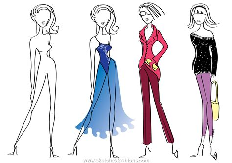 Design Sketch For The the importance of sketches in fashion designing afrikafashionleague