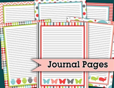 cute printable journal pages darling doodles part 16