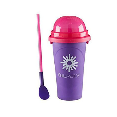 Chill Factor chill factor squeeze cup slushy maker not socks gifts
