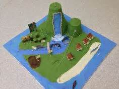 How To Make A Paper Mache Island - create your own 3d island up gr 7 geography