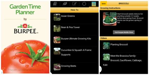 Burpee Garden Time Planner by 10 Apps That Will Help You Become A Domestic Goddess