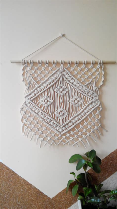 Macrame Projects - hanging towels