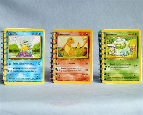 starter books card sketchbooks starter set squirtle