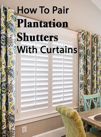 drapes with plantation shutters wood blinds and curtains
