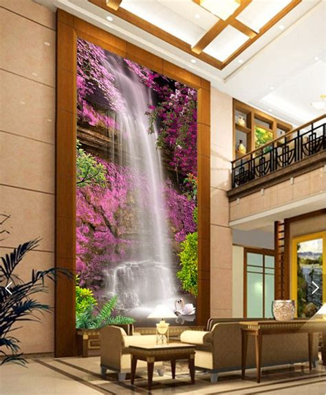 3d wallpaper bedroom aliexpress com buy 3d room wallpaper custom mural non woven wall sticker waterfall
