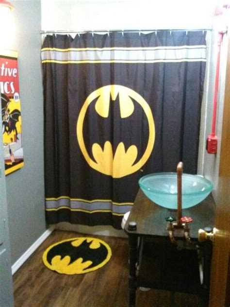 superman bathroom decor batman bathroom home improvement pinterest daniel o