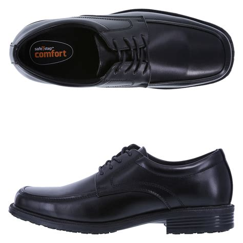 safetstep slip resistant s oxford shoe payless