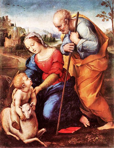 New Home Foundation raffaello sanzio the holy family with a lamb 1507