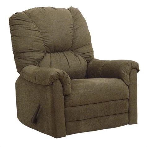 Oversized Rocker Recliner Catnapper Winner Oversized Rocker Recliner Chair In Herbal 42342211215