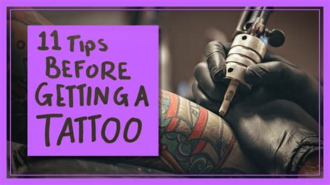 tips for getting a tattoo 11 tips before you get a
